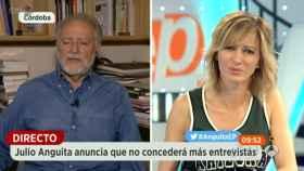 Anguita le dice a Griso que no dará más entrevistas (pero es mentira)