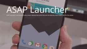 ASAP Launcher, un atractivo launcher basado en tarjetas