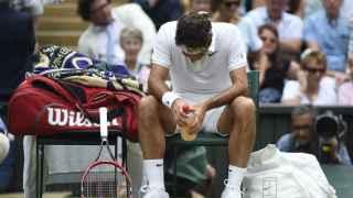 Fedrerer, desolado tras caer en semifinales ante Raonic