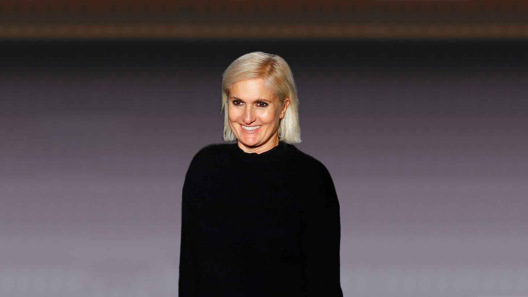 Maria Grazia Chiuri, futura diseñadora de Dior.