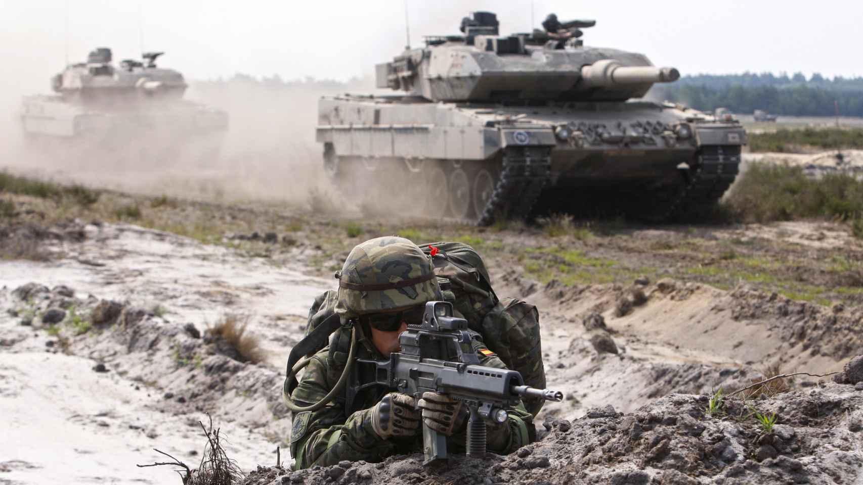 España lidera la fuerza de élite de la OTAN pese a ser el tercer país que menos invierte en Defensa