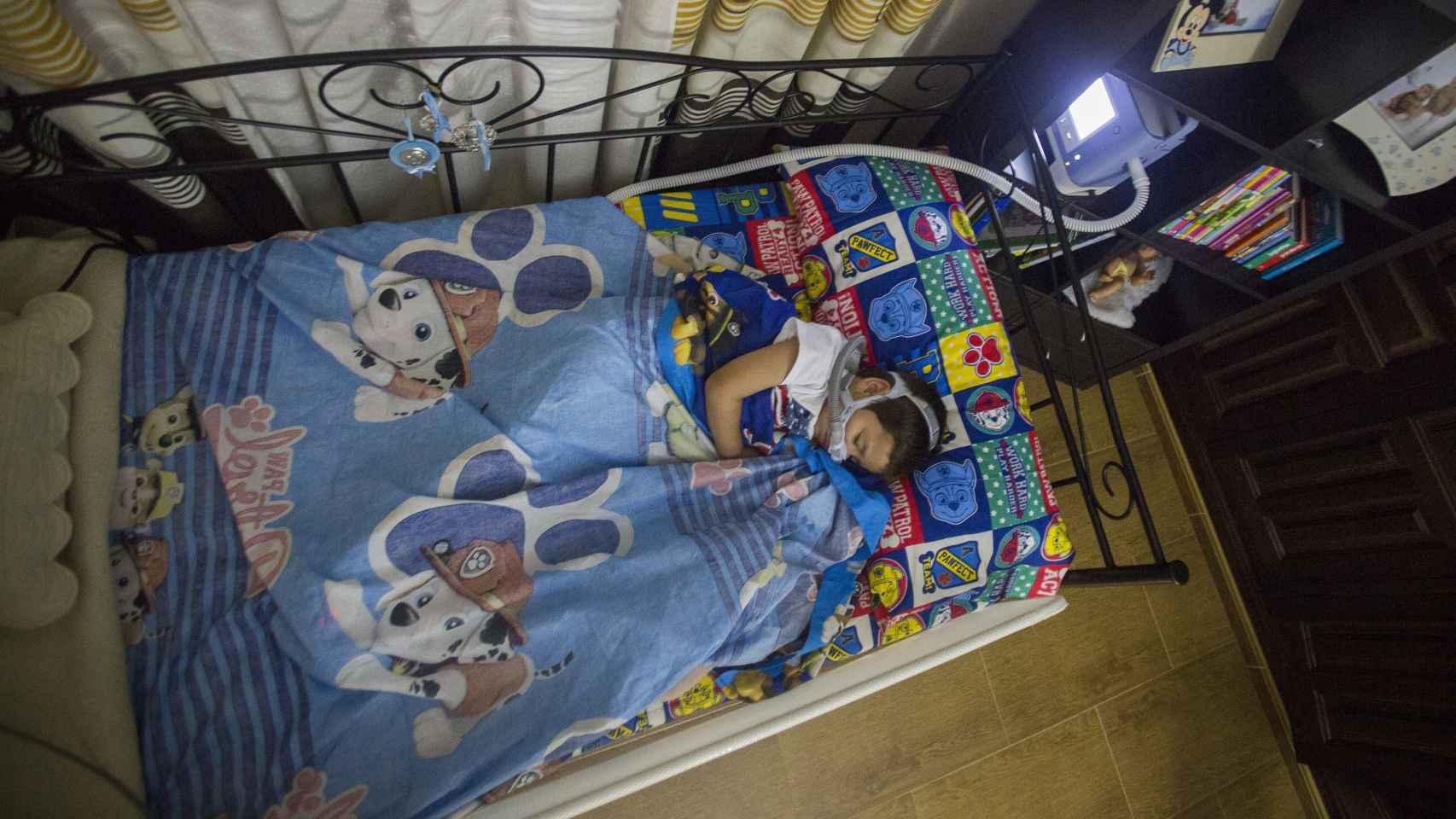 Carlos es una de las 40 personas diagnosticadas en España con el síndrome de Ondine.