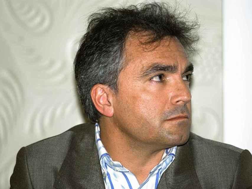 Santiago Espot, de Cataluya Accio, impulsor de las denuncias.