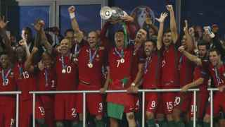 Portugal le regala la Euro a Ronaldo