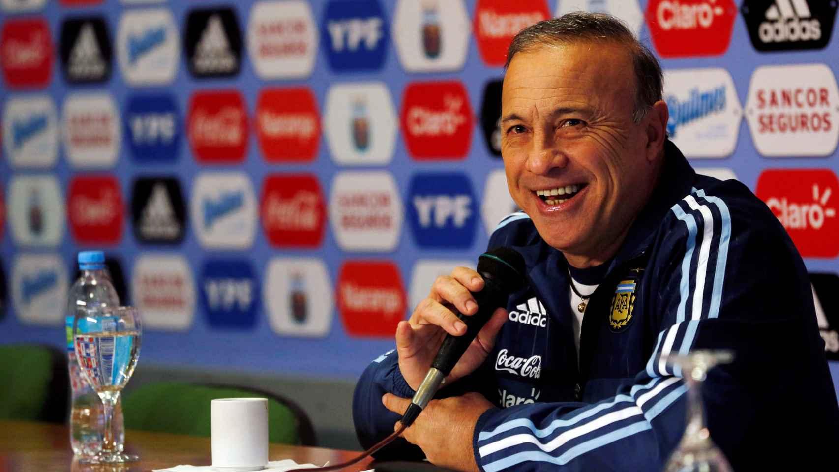 Olarticoechea, el nuevo seleccionador argentino.