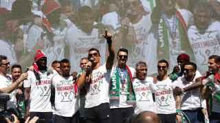 El héroe indiscutible de la selección portuguesa fue Cristiano Ronaldo, a pesar de que tuvo que retirarse en la final lesionado.