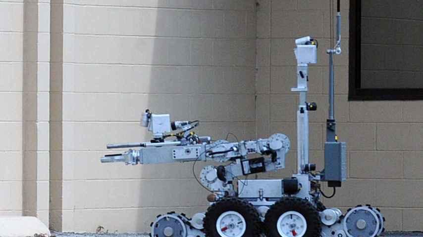 Un robot zapador acabó con el francotirador de Dallas.
