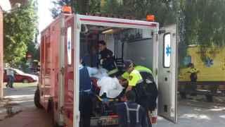 Dos menores mueren al incendiarse un piso en Barcelona