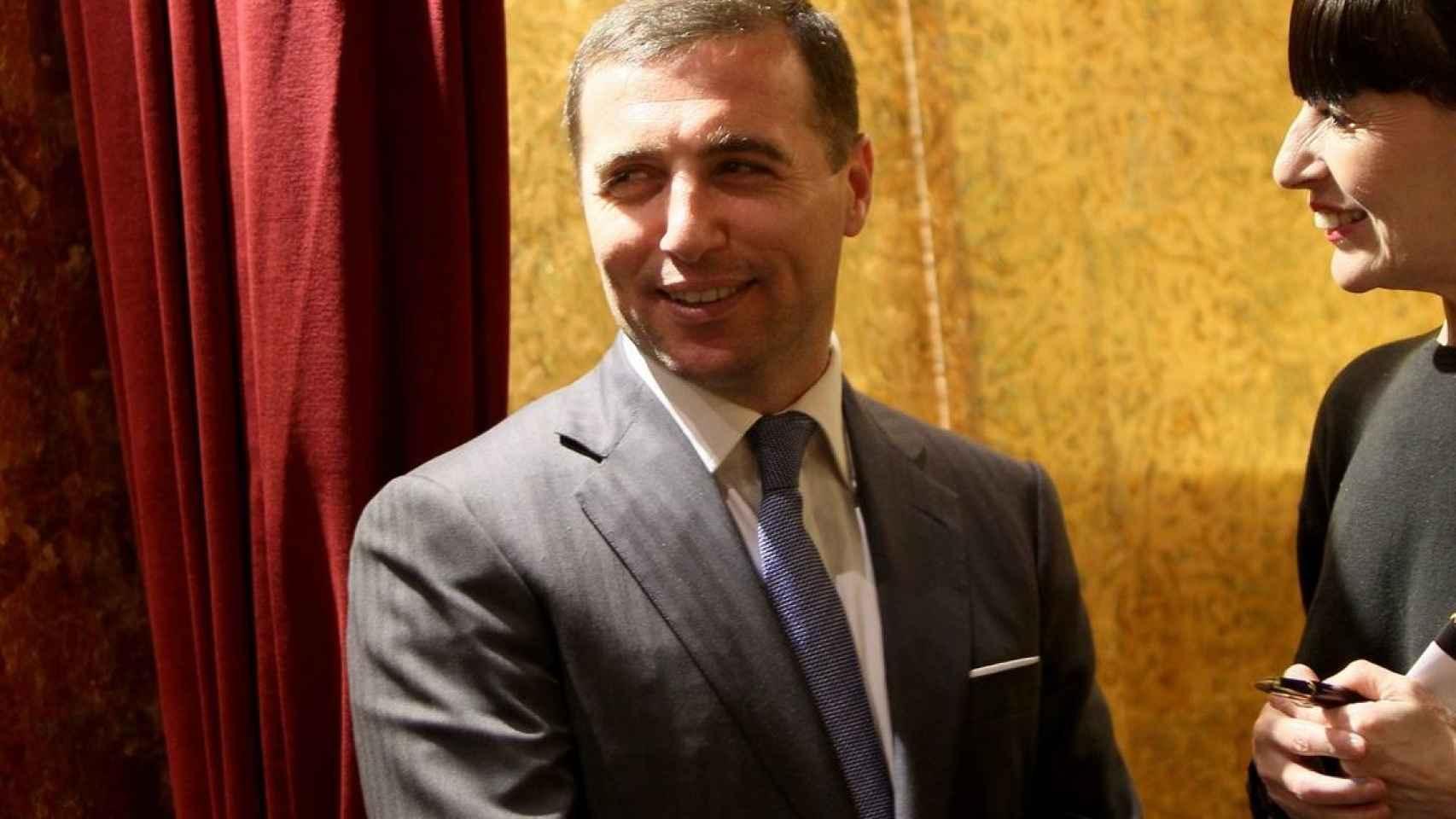 Arman Mayilyan, propietario del restaurante Yubari