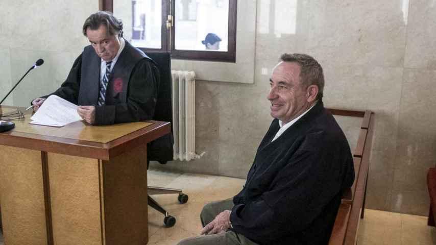 Pere Barceló, durante el juicio ante la Audiencia de Baleares