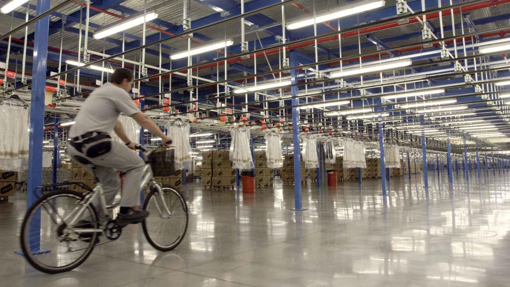 Instalaciones de Inditex en Arteixo.