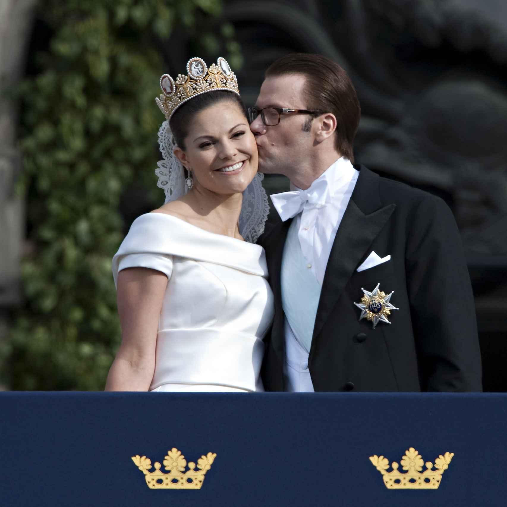 Uno de los momentos más entrañables del enlace de Victoria de Suecia y Daniel Westling.