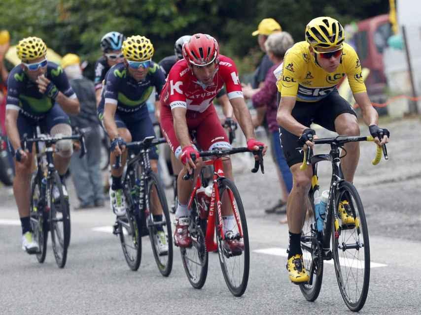 El maillot amarillo del Tour.