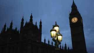 Anochece en Londres mientras Theresa May se prepara para ser la nueva primera ministra.
