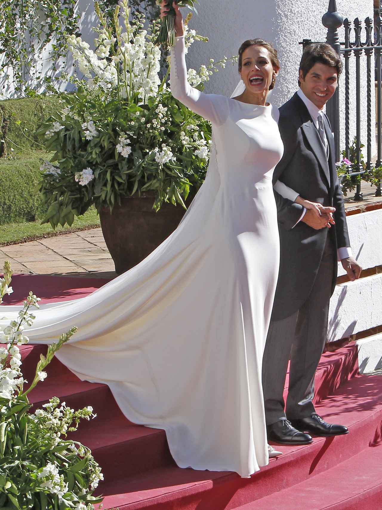 El vestido de la boda de Eva González, de Pronovias.