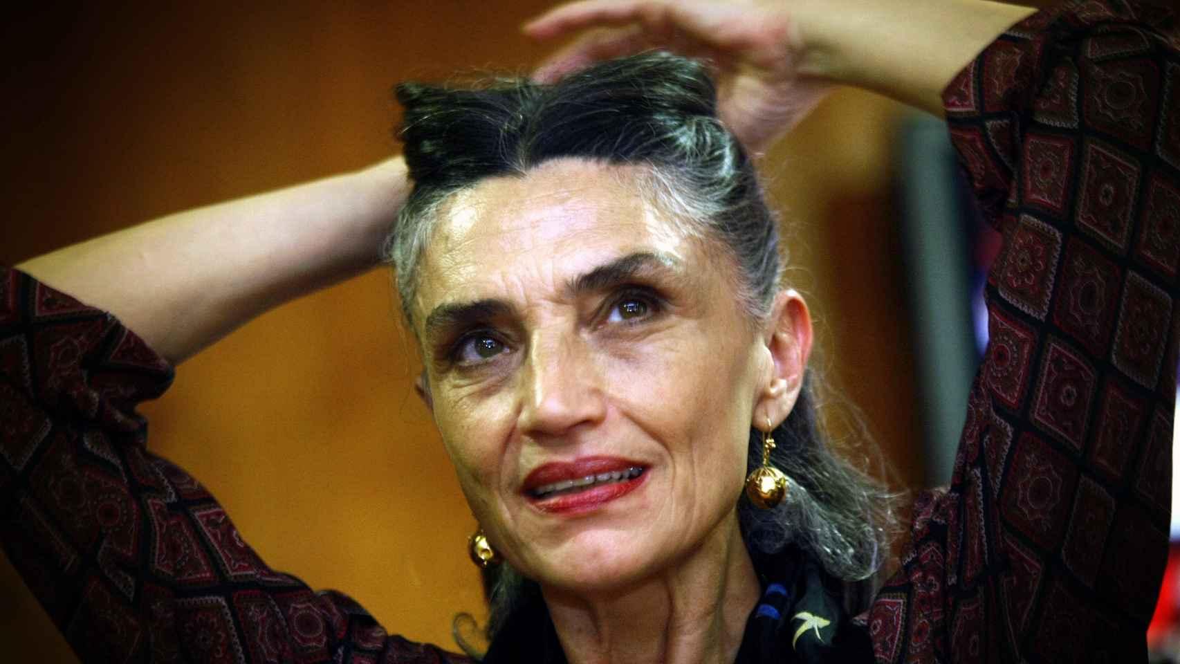La actriz Ángela Molina.