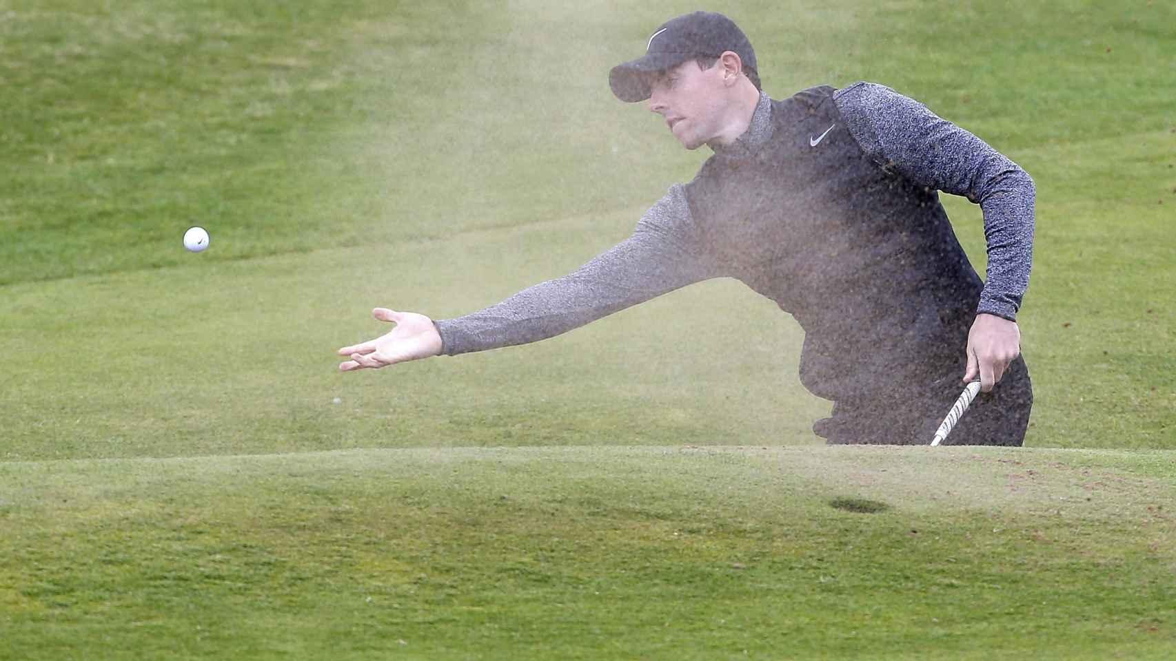 Rory McIlroy, en el British Open