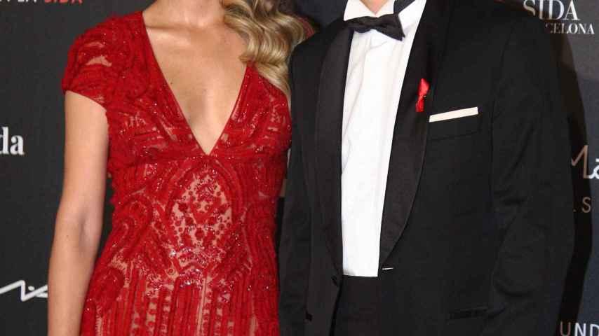 Carlos Bauta y su mujer Astrid Klisans