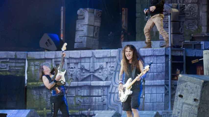 Los padres del heavy metal mundial, Iron Maiden.