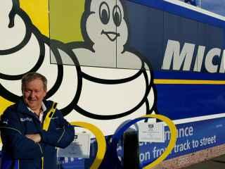 Pascal Couasnon, director de Michelin.