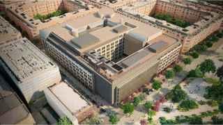El edificio que albergará la nueva sede de Amazon.