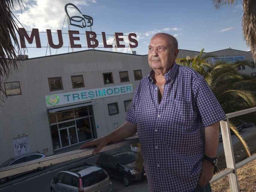 Rafael Moreno es un empresario que tiene varias tiendas de muebles. Foto: Alberto Gamazo