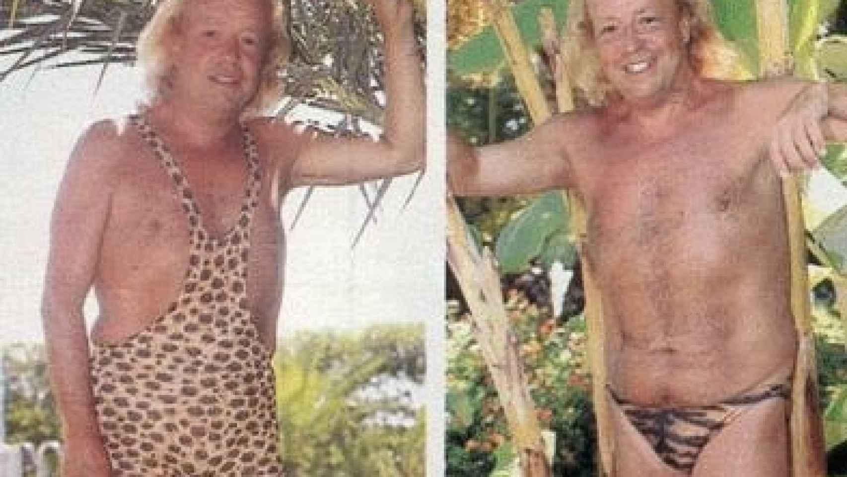 Rappel en trikini y slip
