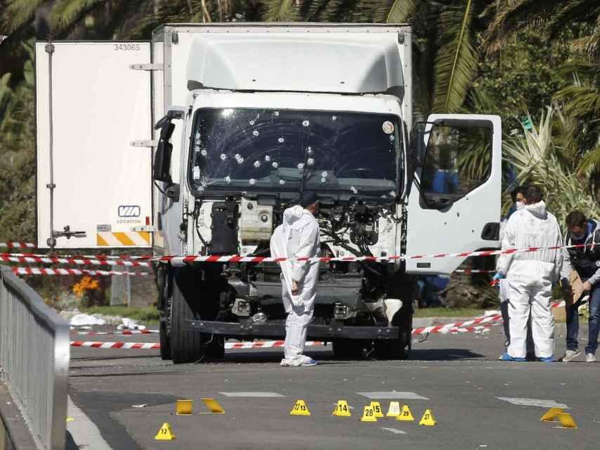 Camión atentado Nice