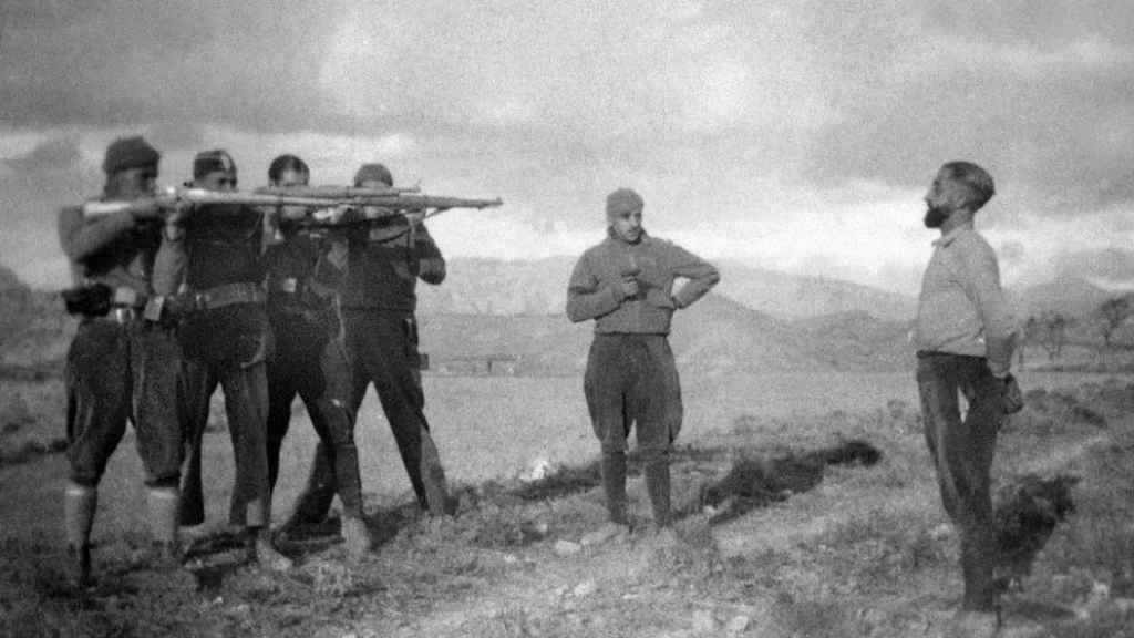 Fusilamiento Guerra Civil.