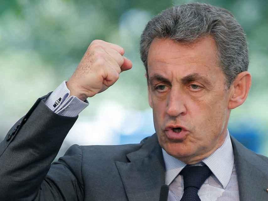 Nicolas Sarkozy dirige Los Republicanos desde 2014.