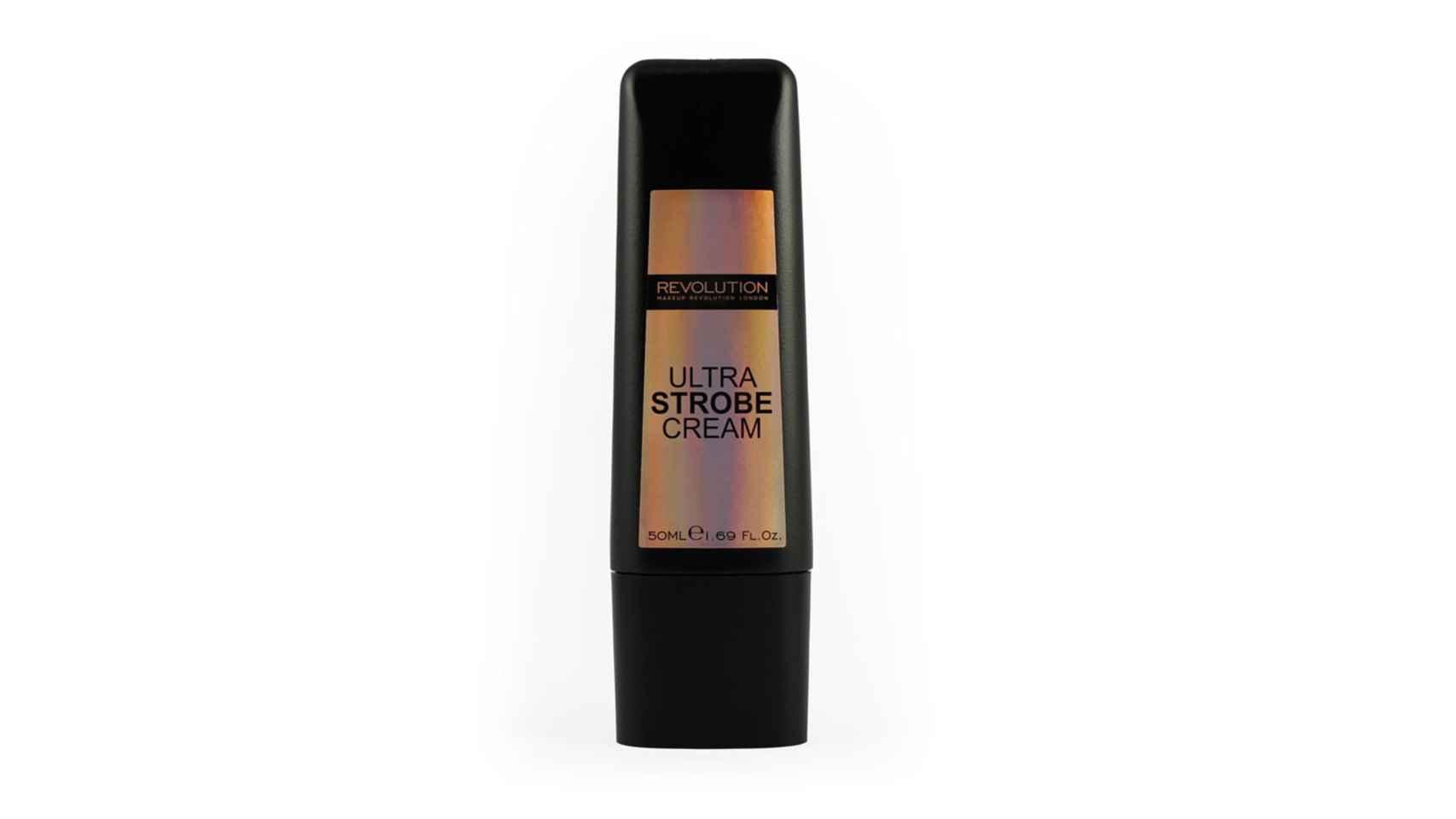Iluminador fluido Ultra Strobe Cream de Makeup Revolution, 12€.