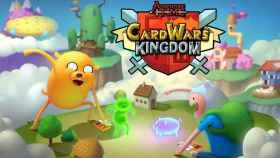 Combates de cartas en Hora de Aventuras con Guerra de cartas: el Reino