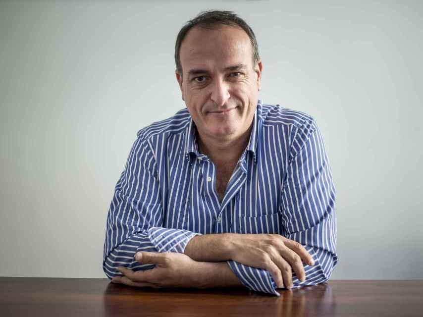 El presidente de Fedetaxi, Miguel Ángel Leal.