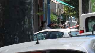 La Policía francesa registra un domicilio en la calle Route de Turin, en Niza.