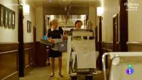 Las limpiadoras se quejan de la aparición de Ana Obregón en 'Trabajo temporal'