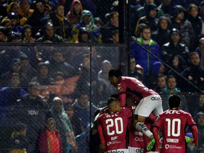 La campanada de Independiente en La Bombonera.