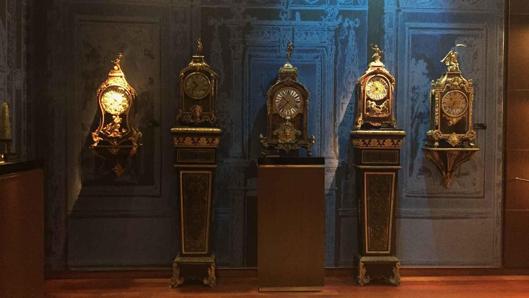 Imagen del Palacio del Tiempo con los relojes de Ruiz-Mateos.