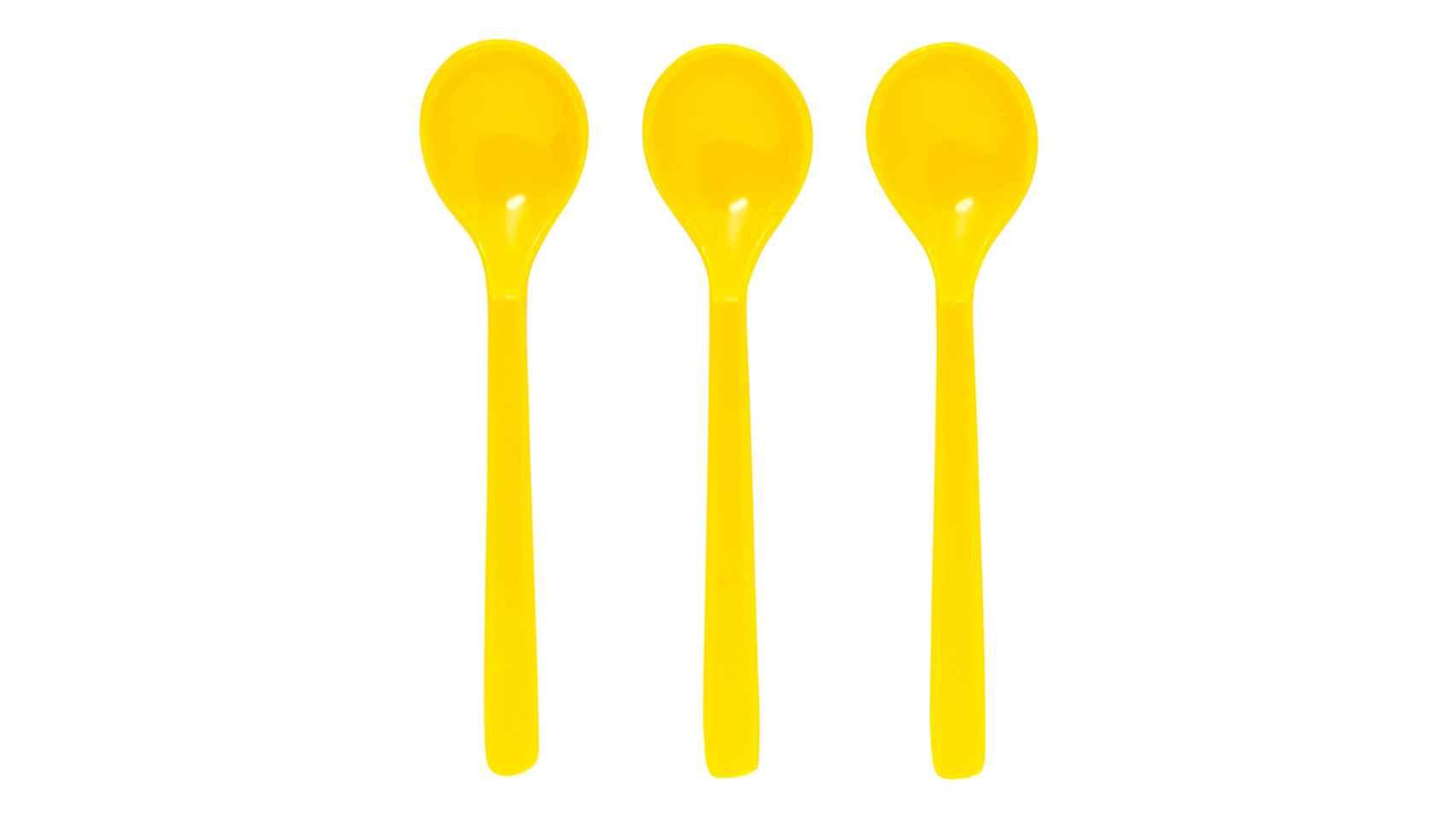 Set de tres cucharas. El Corte Inglés (1,95 euros).