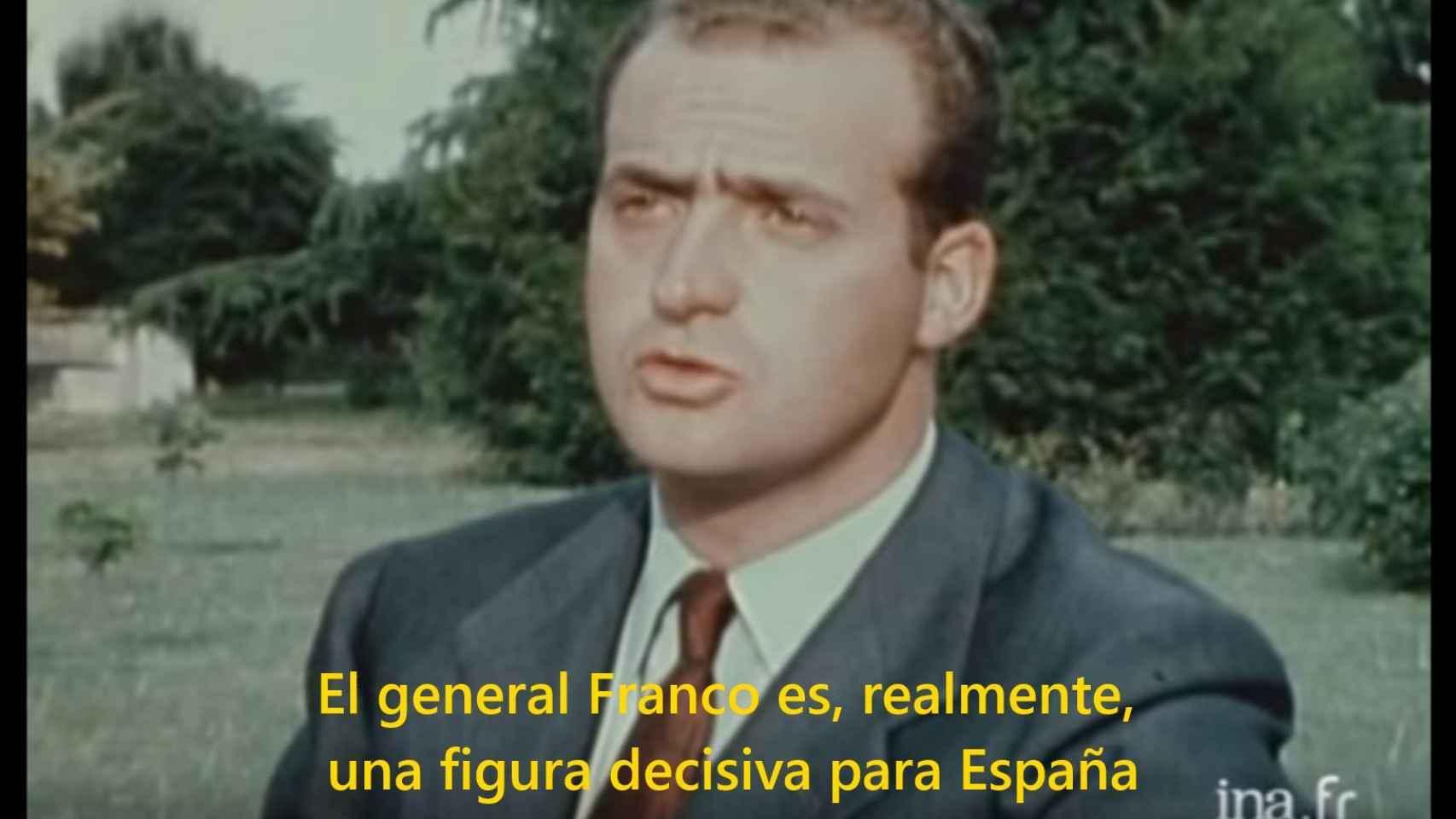 La entrevista al rey Juan Carlos grabada en 1969.