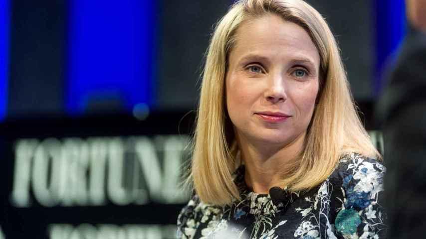 Marissa Mayer, CEO de Yahoo.
