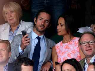 Pippa Middleton, hermana de la princesa Catalina, y James Matthews