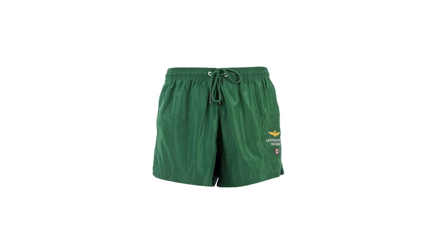 Diseño en verde de la marca Aeronautica Militare.