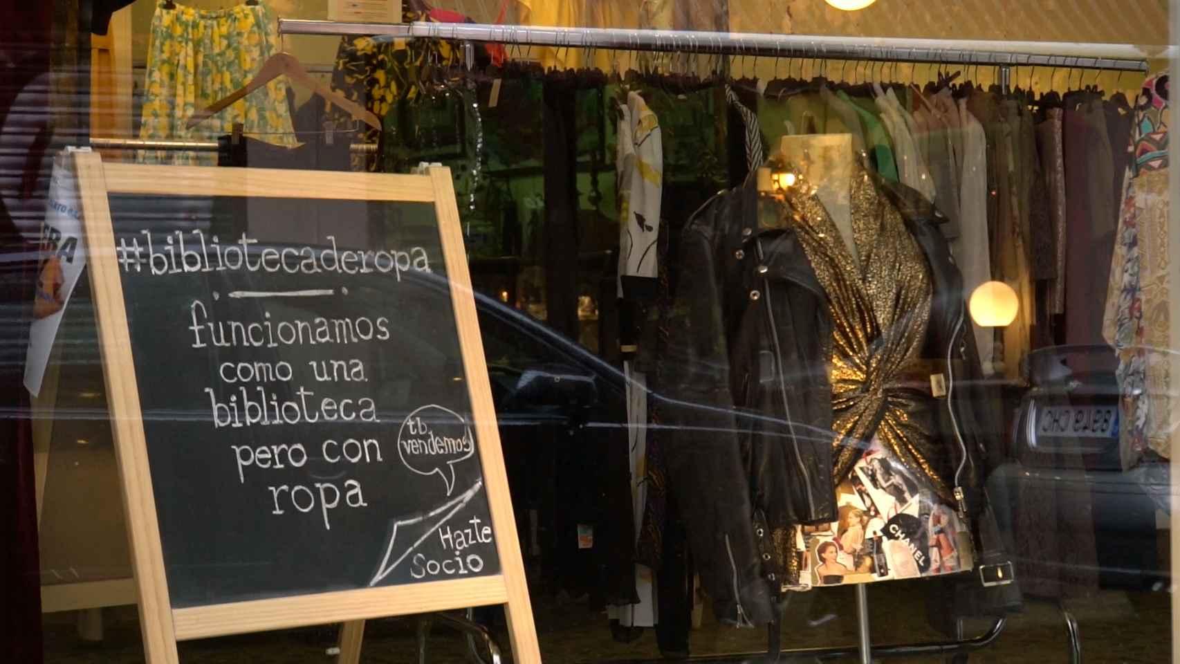 La tienda se encuentra en la Calle Santa Ana.
