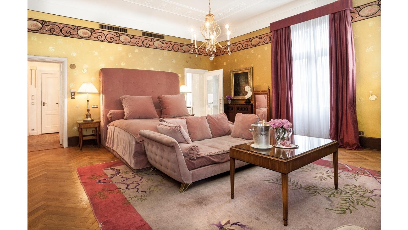Diseñado por Karl Lagerfeld. Schlosshotel en Grunewald, Berlín.