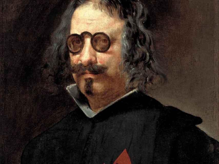 Retrato de Quevedo, atribuido a Juan van der Hamen.