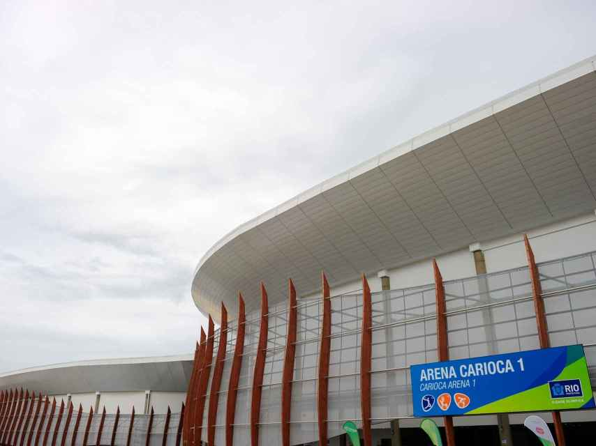 Primer plano del Arena Carioca 1.