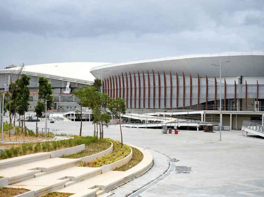 El Arena Carioca 3 junto al velódromo olímpico.