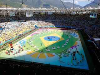 Estadio de Maracaná en la final del Mundial 2014.