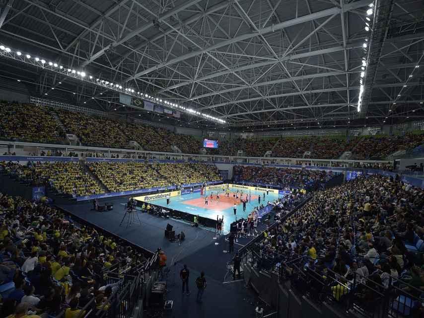 Vista general del Arena Carioca 1 de Río.