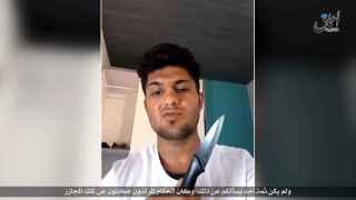 El Estado Islámico difunde un vídeo del supuesto terrorista en Alemania